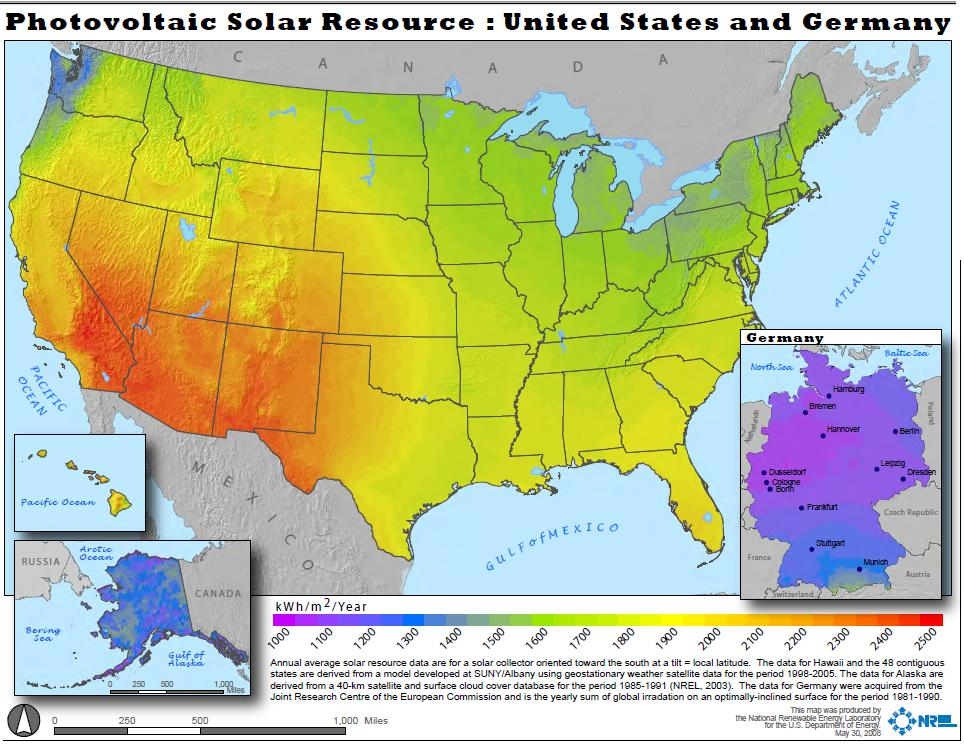 Madville Times - Solar panel map us