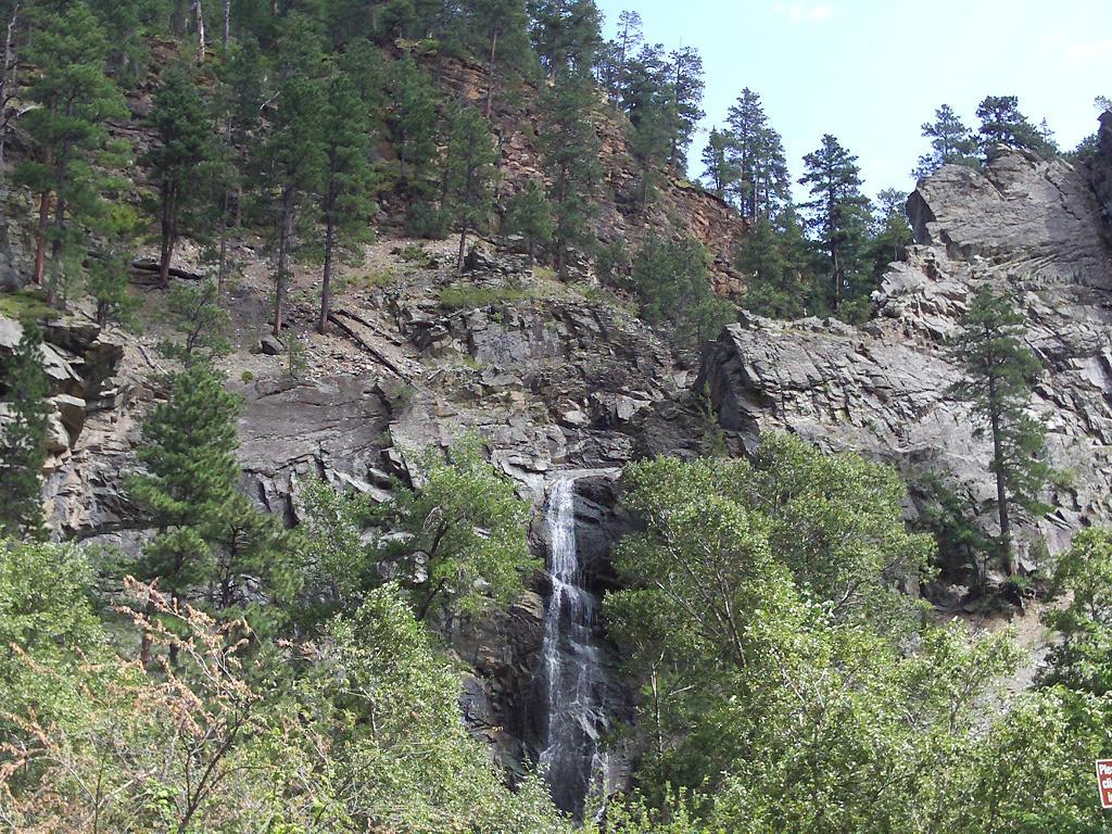 Bridal Veil Falls, Spearfish Canyon, Sunday, August 28, 2011