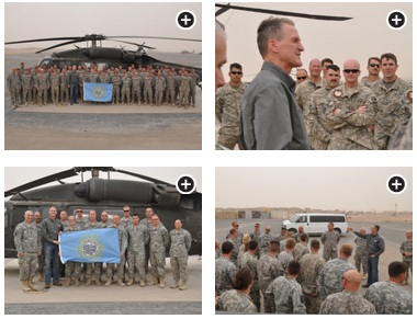 Governor Dennis Daugaard in Kuwait