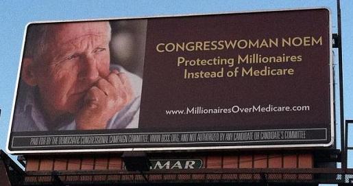 MillionairesOverMedicare.com Billboard, Sioux Falls, SD