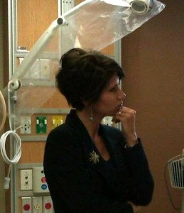 Kristi Noem visits Hot Springs Veterans Administration Hospital, April 12, 2012