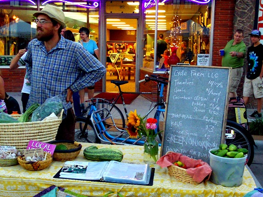 Cycle Farm sells veggies straight from Spearfish Valley at Downtown Friday Nights