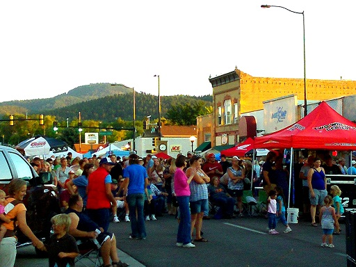Spearfish Downtown Friday Night, August 17, 2012