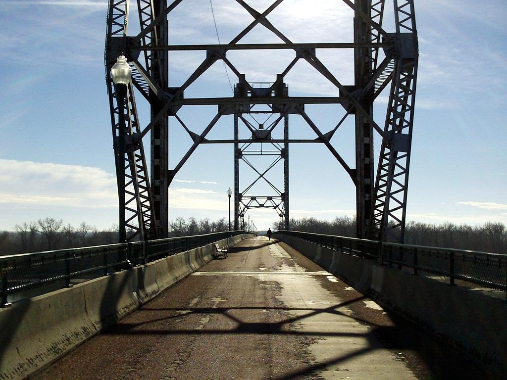 Meridian Bridge, Yankton South Dakota, December 1, 2012