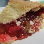 ...and Strawberry rhubarb pie, a.k.a. rocket fuel!