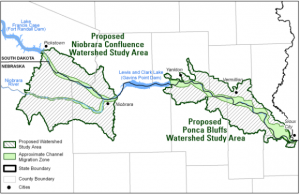 Proposed NIobrara Confluence and Ponca Bluffs Conservation Area