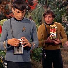 Spock, Chekov, Slim Jims