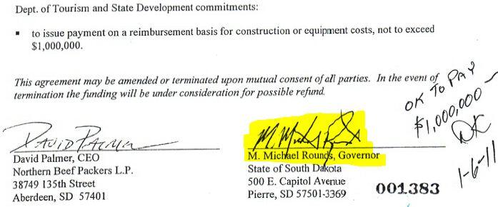 Rounds Signature Grant 1434 - 1M to NBP