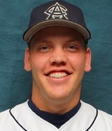 Nathan Alfson, 2011, in his Augie baseball gear