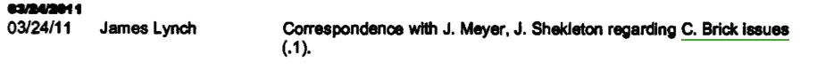 James Lynch, Invoice #4660, Garcia Calderón Ruíz, 2011.04.28, excerpt, p. 3