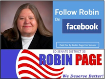 Vote for Robin Page—District 33 Senate