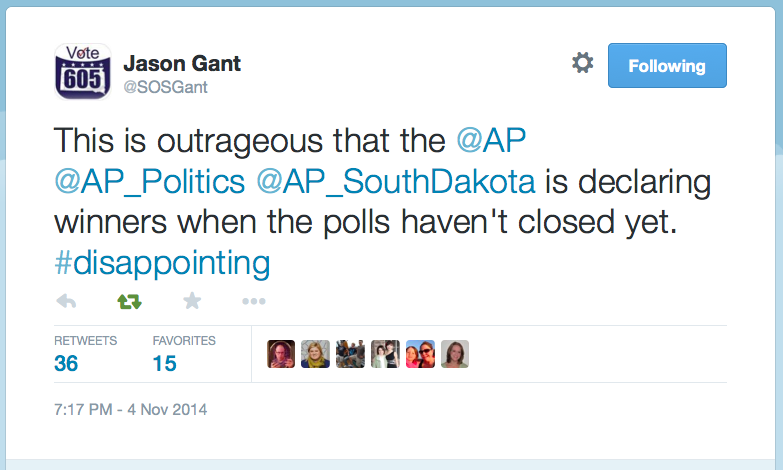 SOS Jason Gant tweet, 2014.11.04.