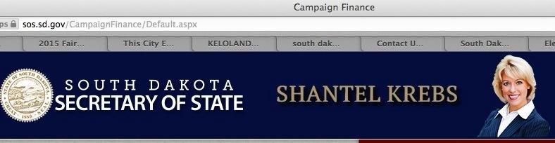 SDSOS.gov banner, screen cap, 2014.01.02.09:03 CST